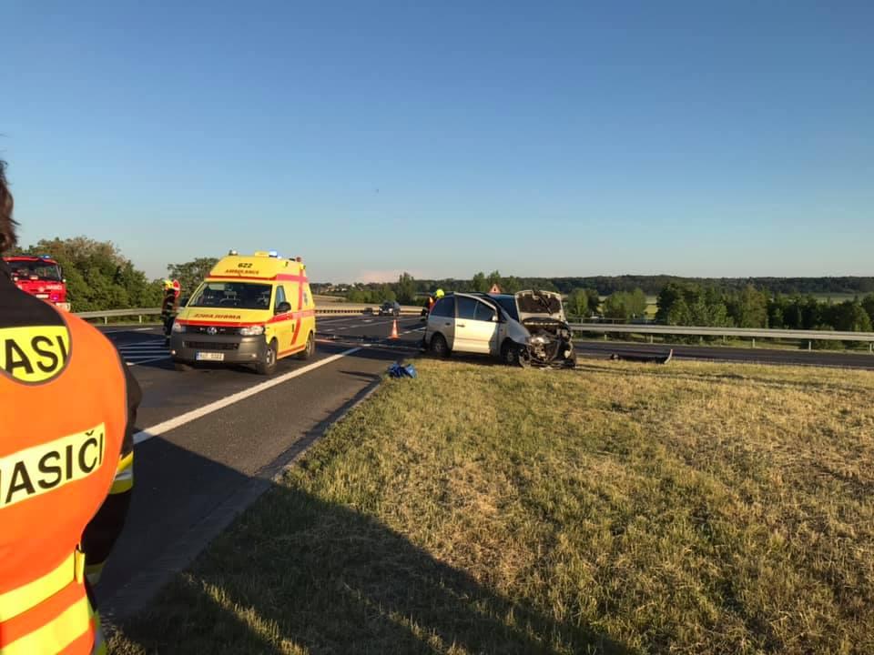 2.6.2019 – Dopravní  nehoda OA Doksany