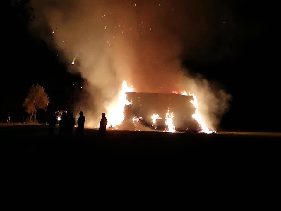 29.9.2019 Požár travního porostu Úpohlavy