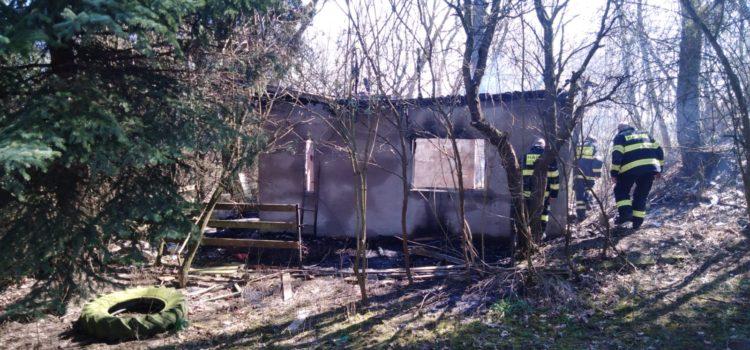 5.4.2020 Požár chaty Hostěnice