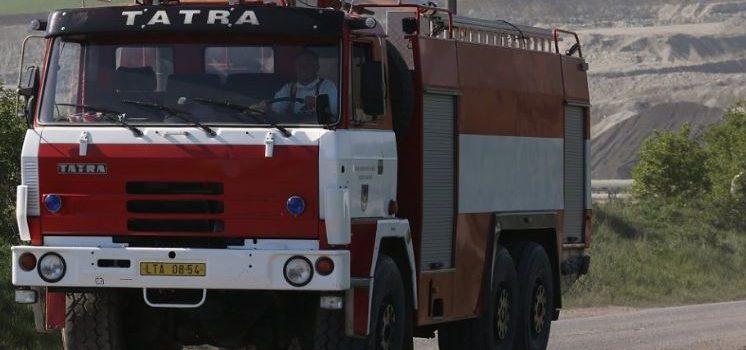 30.05. Požár skládky odpadu Čížkovice-želechovice