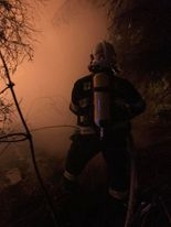13.10.2020 Požár nízké budovy v obci Libochovice